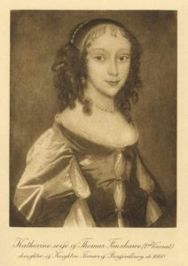 The only extant portrait of Katherine Ferrers aged 14