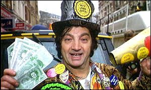 David Sutch aka Screaming Lord Sutch