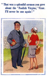 Typical Donald McGill postcard