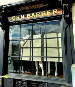 John Barber signage at The Women's Society