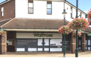 Waitrose closed doors