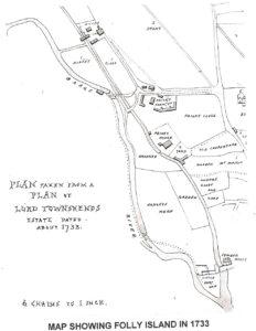 Folly Island 1733