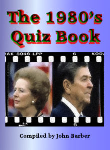 1980 quiz book compiled by John Barber