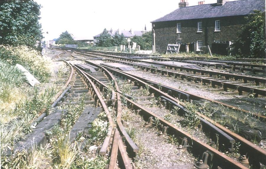 railway track 1976