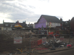 Centurian House razed to the ground