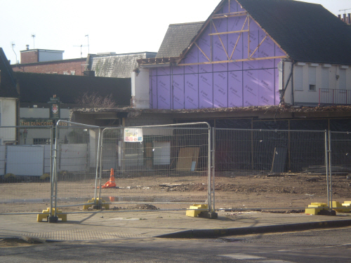 Centurion house demolished