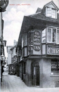 The Old Coffee House on the corner of Maidenhead Street and Honey Lane