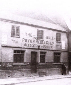 The Bull c1910. Bull Plain was named after the pub