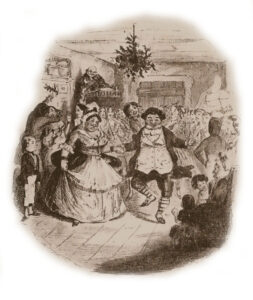 Mr Fizziwig's Ball by John Leech from A Christmas Carol by Charles Dickens