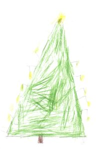 Christmas Card by Archie